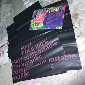 """5x NoIssue Compostable Mailers 165mm x 230mm (6.5"""" x 9"""")"""